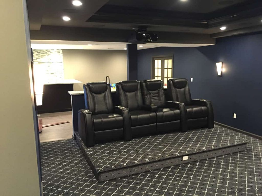 Cost for Basement Remodeling in New Jersey