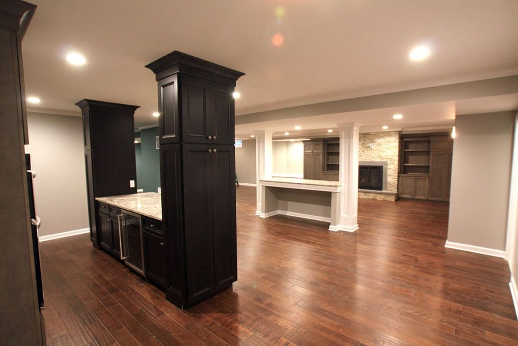 Cost of a basement remodel in NJ